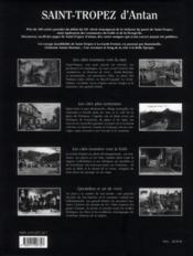 Saint-Tropez d'antan ; le golfe et la presqu'île de Saint-Tropez à travers la carte postale ancienne - 4ème de couverture - Format classique