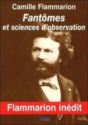 Fantômes et sciences d'observation - Couverture - Format classique