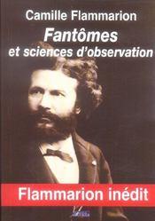 Fantômes et sciences d'observation - Intérieur - Format classique