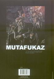 Mutafukaz t.2 ; troublants trous noirs - 4ème de couverture - Format classique