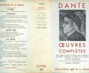 Oeuvres Completes. Collection : Bibliotheque De La Pleiade N°182 - Couverture - Format classique