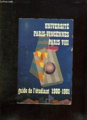 Guide De L Etudiant. 1980 - 1981. - Couverture - Format classique
