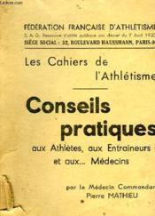 N° 1: Conseils Pratiques Aux Athletes, Aux Entraineurs ... - Couverture - Format classique