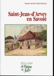 Saint-jean d'arvey en savoie - Couverture - Format classique