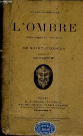 L'Ombre Opera Comique En Trois Actes / Nouvelle Edition. - Couverture - Format classique
