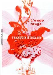 L'ange rouge - Couverture - Format classique