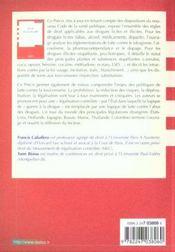 Droit de la drogue - 2e ed. - 4ème de couverture - Format classique