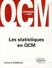 Les statistiques en qcm - Intérieur - Format classique