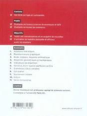 Les statistiques en qcm - 4ème de couverture - Format classique