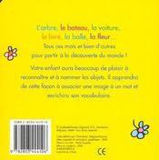 Les Mots De Bebe 1-3 Ans - 4ème de couverture - Format classique