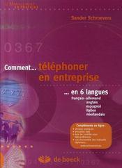 Comment téléphoner en entreprise en 6 langues - Intérieur - Format classique