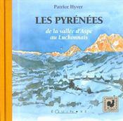 Les Pyrénées ; de la vallée d'Aspe au Luchonnais - Intérieur - Format classique