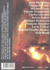 Utopiae 2003 - 4ème de couverture - Format classique