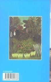 Henri Rousseau - 4ème de couverture - Format classique