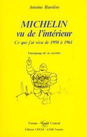 Michelin vu de l'intérieur - Intérieur - Format classique