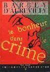Le bonheur dans le crime - Couverture - Format classique