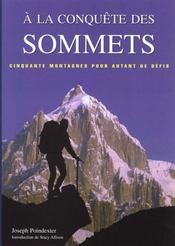 A La Conquete Des Sommets - Intérieur - Format classique