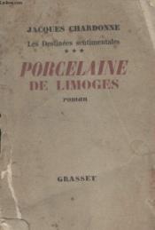 Porcelaine De Limoges. - Couverture - Format classique