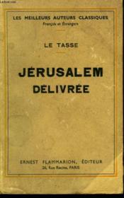 Jerusalem Delivree. - Couverture - Format classique