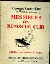 Messieurs Les Ronds De Cuir - Couverture - Format classique