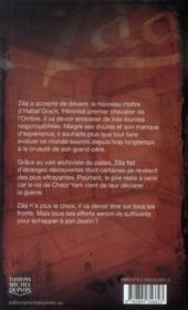 Zâa t.5 ; le chevalier de l'ombre - 4ème de couverture - Format classique