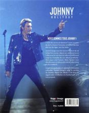 Johnny Hallyday, une vie - 4ème de couverture - Format classique