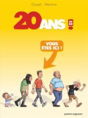 20 ans en BD - Couverture - Format classique