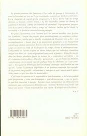 L Effacement De L Avenir - 4ème de couverture - Format classique