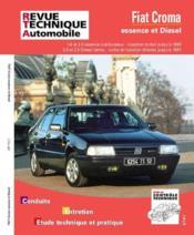 Rta 712.1 Fiat Croma Ess. (85/93)-Td Et Tdi (86/92) - Couverture - Format classique