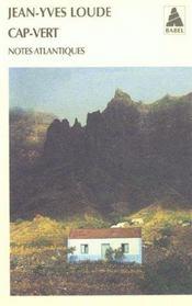 Cap-Vert, Notes Atlantiques Babel 537 - Intérieur - Format classique