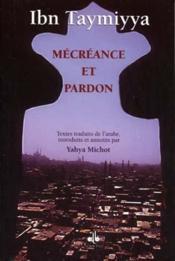 Mecreance Et Pardon - Couverture - Format classique