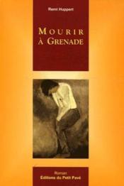 Mourir à Grenade - Couverture - Format classique