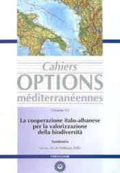 La cooperazione italoalbanese per la valorizzazione della biodiversita seminario lecce 2426 febbraio - Couverture - Format classique