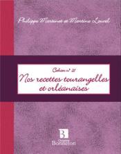 Mes recettes tourangelles et orléanaises - Couverture - Format classique