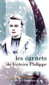 Les carnets de Victoire Philippe - Intérieur - Format classique