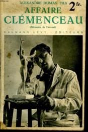 Affaire Clemenceau. Nouvelle Collection Illustree. - Couverture - Format classique