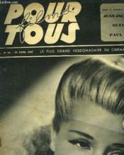 Films Pour Tous. Le Plus Grand Hebdomadaire Du Cinema N°54 - Couverture - Format classique