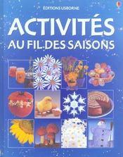 Activites Au Fil Des Saisons - Intérieur - Format classique