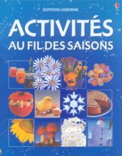 Activites Au Fil Des Saisons - Couverture - Format classique