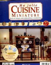 Ma Jolie Cuisine Maniature N°27 - Couverture - Format classique