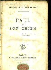 Paul Et Son Chien - Tome 1. - Couverture - Format classique