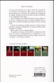 Bjorn le morphir - 4ème de couverture - Format classique