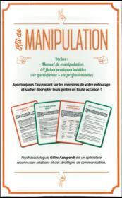 Kit de manipulation - 4ème de couverture - Format classique