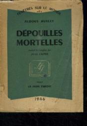 Depouilles Mortelles / Collection Fenetres Sur Le Monde N°7 - Couverture - Format classique