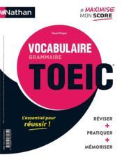 Grammaire vocabulaire : TOEIC (édition 2020) - Couverture - Format classique