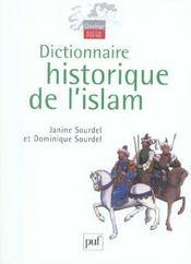 Dictionnaire Historique De L'Islam - Intérieur - Format classique