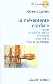 La mesentente cordiale - Intérieur - Format classique