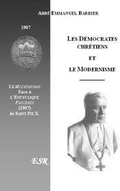 Les Democrates Chretiens Et Le Modernisme - Couverture - Format classique