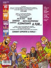 Jim t.1 ; comment supporter la famille - 4ème de couverture - Format classique
