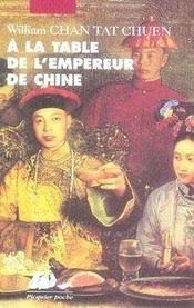 À la table de l'empereur de chine - Intérieur - Format classique